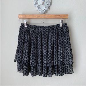 Urban Outfitters Ecote' layered mini skirt